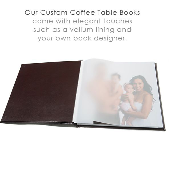 custom coffee table book
