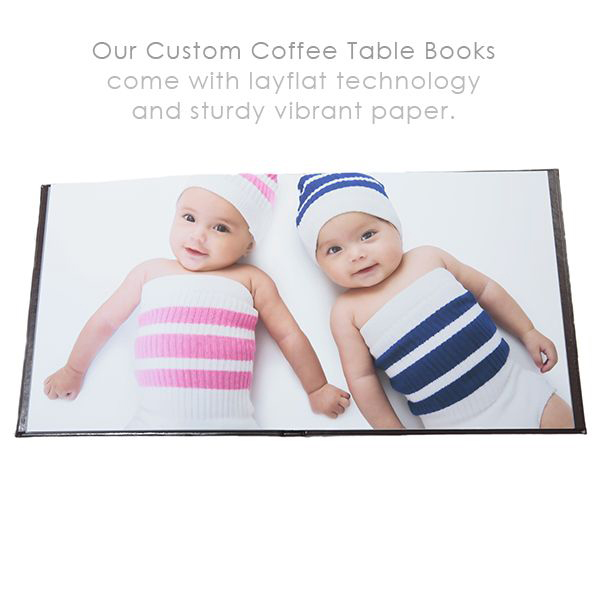 custom coffee table books
