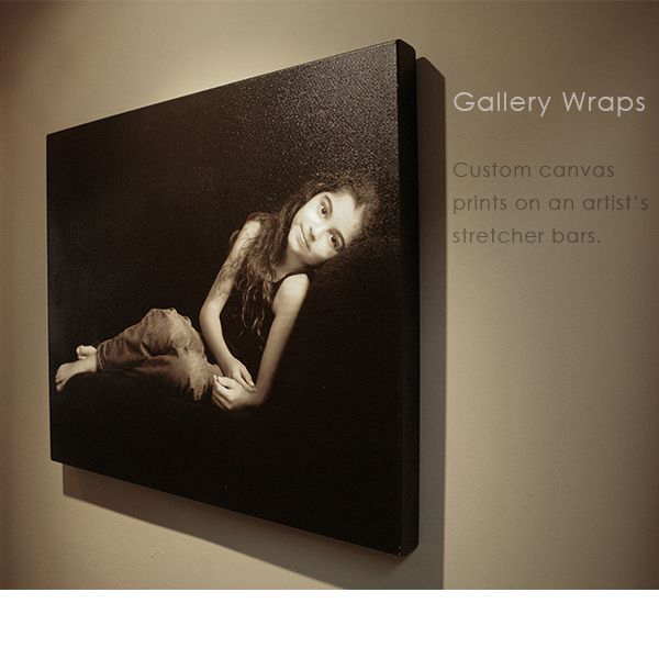 Custom Canvas Gallery Wrap Wall Portraits